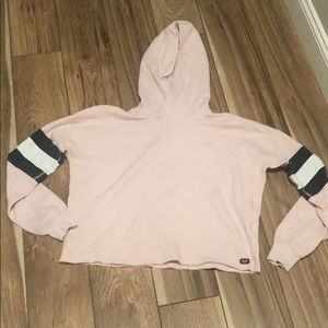 Abercrombie & Fitch Other - pink cut off hoodie
